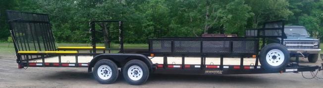 Roadway utility trailers 4x8 for Garden design trailer