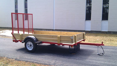 Roadway utility trailers 5x10 2k for 5x10 wood floor trailer